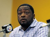 Pittsburgh Steelers head coach Mike Tomlin during a press conference on April 22, 2013