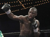 Steve Cunningham during the heavyweight boxing match against Tyson Fury on April 20, 2013