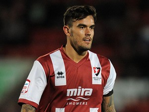 Cheltenham Town's Marlon pack on September 28, 2012