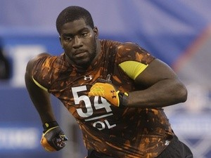 Raiders new OL Menelik Watson - when playing for Florida State - on February 23, 2013