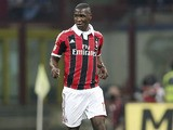 AC Milan defender Cristian Zapata during the Serie A match against Napoli on April 14, 2013