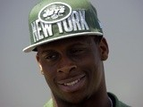 New Jets QB Geno Smith at Draft Day on April 27, 2013
