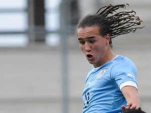 Uruguay's Diego Laxalt in action on January 18, 2013