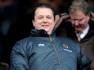 Wolves' CEO Jez Moxey in the stands on February 4, 2013