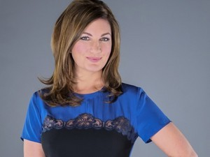 Karren Brady in a promotional still for The Young Apprentice