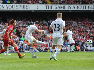 Tottenham Hotspur's Gareth Bale scores against Southampton on May 4, 2013