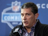 Detroit Lions head coach Jim Schwartz during a press conference on February 21, 2013