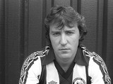 Newcastle United defender Steve Carney pictured at St James's Park prior to the 1982-83 season