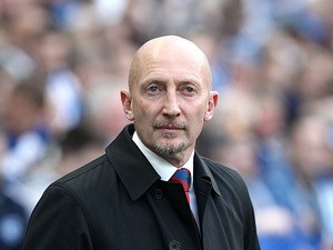 Crystal Palace manager Ian Holloway prior to kick off against Brighton on May 13, 2013