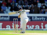 England's Joe Root during the Second Test match against New Zealand on May 25, 2013