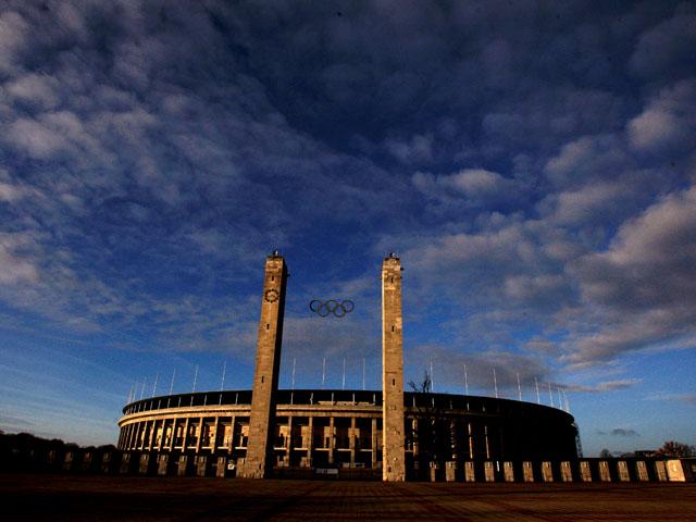 Berlin's Olympic Stadium taken November 15, 2008