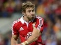 Lions' Leigh Halfpenny converts a try against Force on June 5, 2013