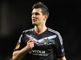 Lyon's Dejan Lovren during the Europa League match against Tottenham Hotspur on February 14, 2013