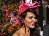 Lizzie Cundy at Sandown Park racecourse on August 20, 2011