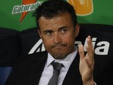 AS Roma Spanish coach Luis Enrique during the Serie A soccer match between AS Roma and Catania on May 5, 2012