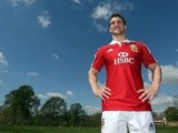 Lions captain Sam Warburton at the squad announcement on April 30, 2013