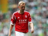 Aberdeen's Stephen Hughes during the match against Celtic on August 4, 2012