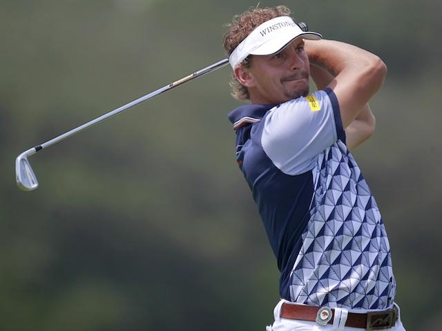 Dutchman Joost Luiten at the PGA Championship on August 11, 2012