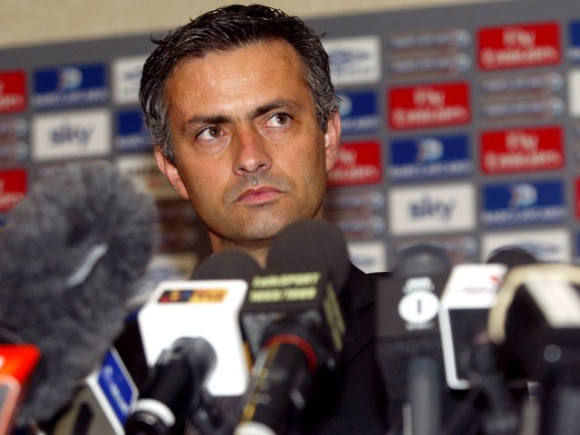 "Arriving from Porto in the summer of 2004, Mourinho tells the English press that he is a ""Special One""."