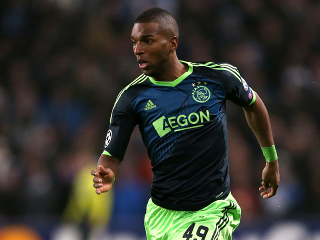 Ajax's Ryan Babel during the Champions League match against Manchester City on November 6, 2012