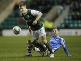 Hibs' Gary Deegan in action against St Johnstone on February 11, 2013