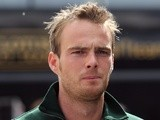 Caterham's Giedo Van Der Garde at F1 during practice at Barcelona on May 10, 2013