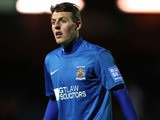 Stockport County's Danny Whitehead during the match against Wrexham on October 10, 2012