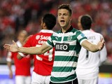 Sporting's Ricky van Wolfswinkel during the Portuguese league soccer match between Benfica and Sporting on April 21, 2013