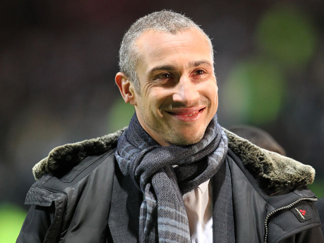 Former Celtic player Henrik Larsson on February 12, 2013
