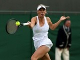 Caroline Wozniacki during her win over Estrella Cabeza Candela on June 24, 2013