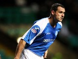 St Johnstone's David McCracken during the match against Celtic on October 30, 2012
