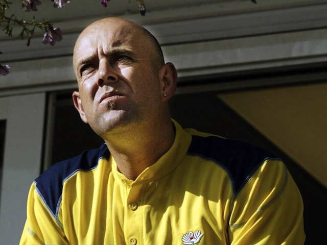 Australia's Darren Lehmann photographed on May 1, 2004