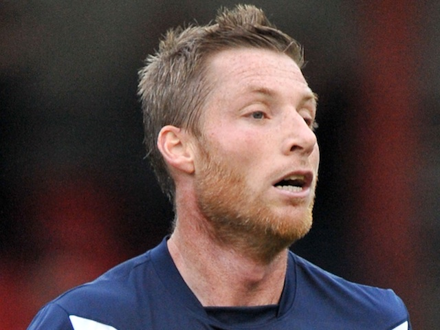 Former Southend striker Neil Harris in action for the club on October 8, 2011