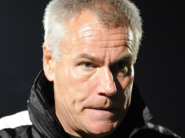 Wycombe Wanderers' manager Peter Taylor on September 29, 2009