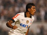 Corinthians' Paulinho in action on May 15, 2013