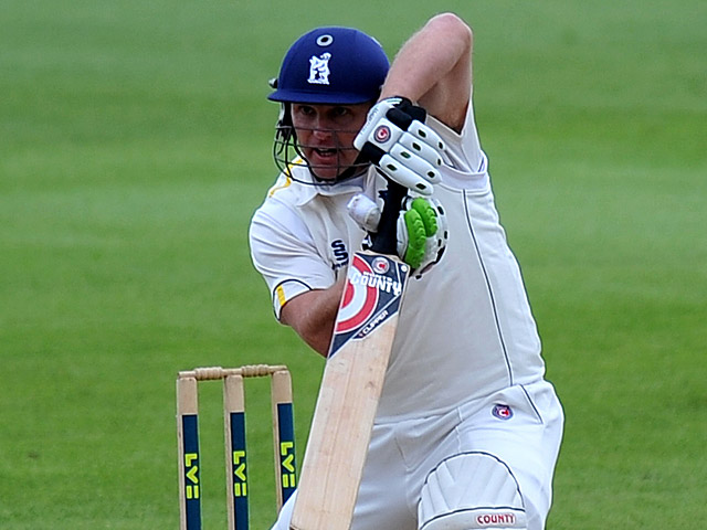 Warwickshire's Darren Maddy in action on July 12, 2012