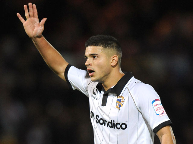 Port Vale's Sam Morsy during the match against Oxford United on October 15, 2012