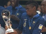 France's Paul Pogba after his team won the U20 World Cup on July 13, 2013