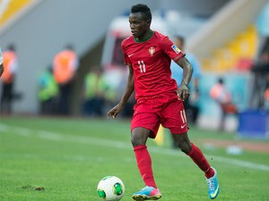Portugal's Bruma in action during the U20 World Cup on June 27, 2013
