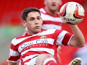 Doncaster's Dean Furman in action against Swindon on April 1, 2013