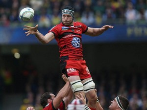Toulon's Nick Kennedy during the Heineken Cup Final match against Clermont Auvergne on May 18, 2013