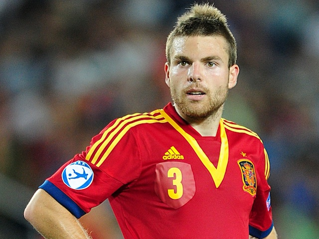 Spain's Asier Illarramendi in action at the U21 Euro Champs on June 18, 2013