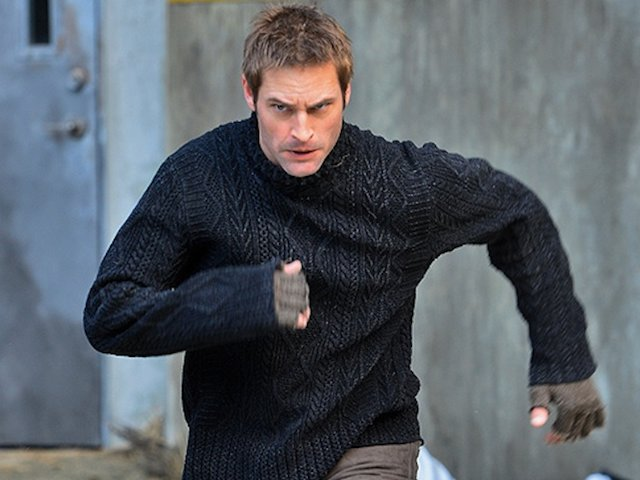 Josh Holloway in a promo shot for Intelligence