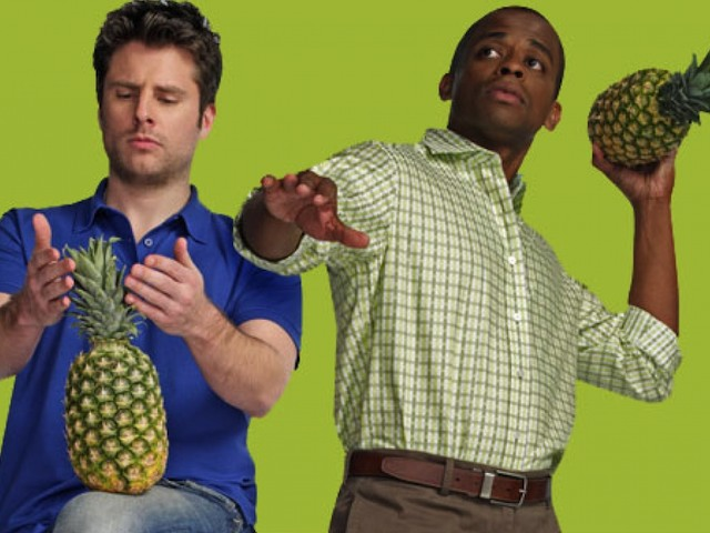 Promo shot for season seven of Psych