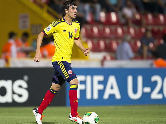 Colombia's Sebastian Perez in action during the U20 World Cup on June 28, 2013