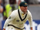 Australia's David Warner in action during the First Ashes Test match on July 10, 2013
