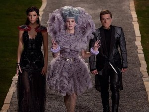 Promo shot for The Hunger Games: Catching Fire