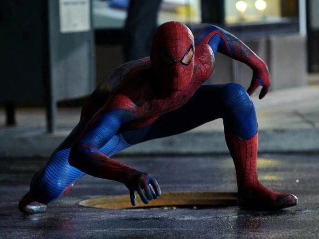 Promo shot for Amazing Spider-Man 2