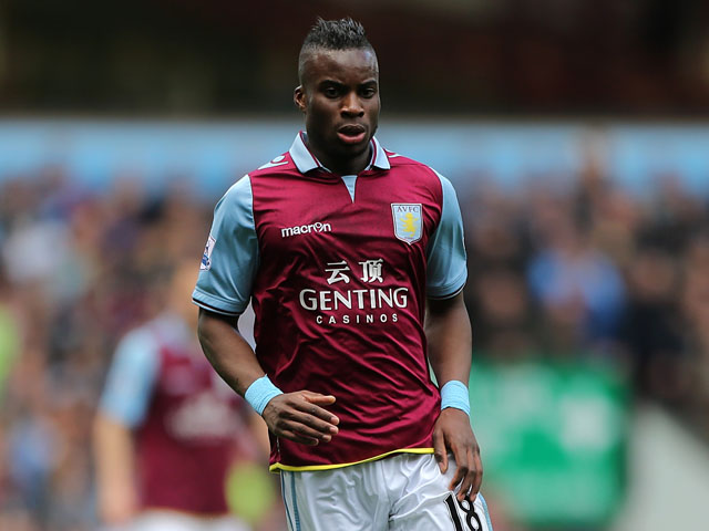 Aston Villa's Yacouba Sylla during the match against Chelsea on May 11, 2013