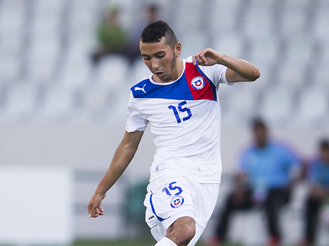 Chile's Cristian Cuevas in action during the U20 World Cup on July 3, 2013